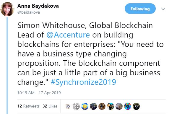 Anna Baydakova Global Blockchain