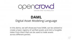 DAML Demo Title Card