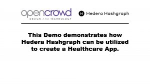 OpenCrowd Hedera Hashgraph Verification App Thumbnail