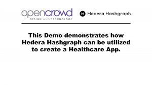 OpenCrowd Hedera Hashgraph Verification App Thumbnail